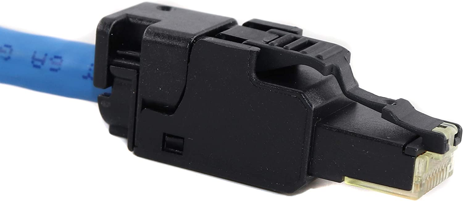 UTP Optical Cable OCCUFP6A Category-6A Field Mount Plug Cat6A, RJ45 10-Pack