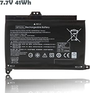 15-AU000 BP02XL Laptop Battery for HP Pavilion PC 15 15-AU018WM 15-AW000 Series HSTNN-UB7B HSTNN-LB7H 849569-421 849569-541 849569-542 2ICP7/65/80 Notebook Batteries