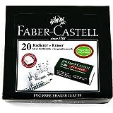 Faber-Castell Büyük 7085/20 Beyaz Silgi