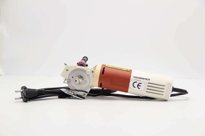 YJ-65 Cloth Cutter Fabric Cutting Machine Shear Rotary Electric Scissors /& 220V