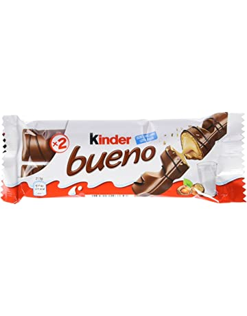 Kinder Bueno Snack de Chocolate - Pack de 3 x 43 g - Total: 129