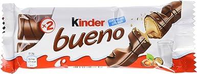 Kinder Bueno Snack de Chocolate - Pack de 3 x 43 g - Total: 129 g ...