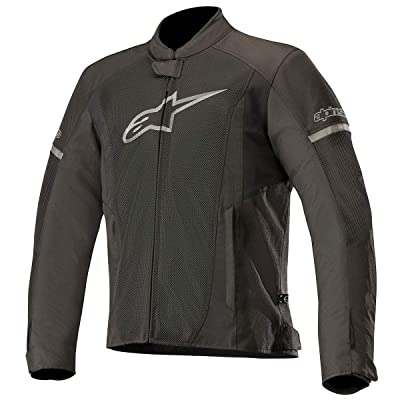 Alpinestars Men's T-Faster Air Motorcycle Jacket, Black/Black, Large: Automotive