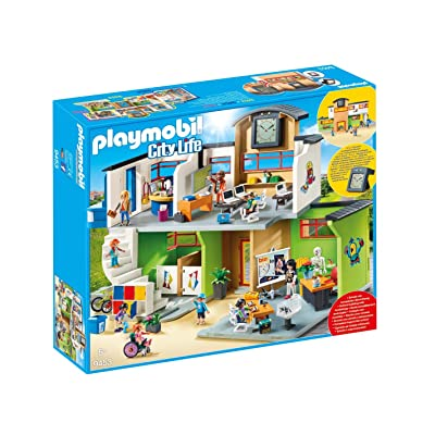PLAYMOBIL Furnished School Building: Toys & Games