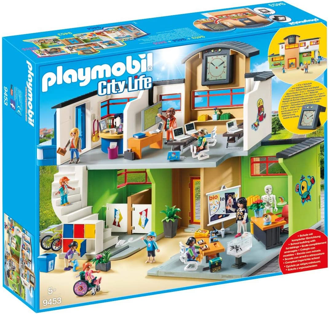 PLAYMOBIL City Life Colegio, a Partir de 5 Años (9453): Amazon.es ...