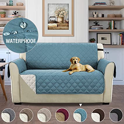Pleasing Reversible Quilted Furniture Protector Sofa Covers For Dogs Improved Anti Slip With Elastic Straps And Foams 2 Seater Antifouling Chairs Furniture Machost Co Dining Chair Design Ideas Machostcouk