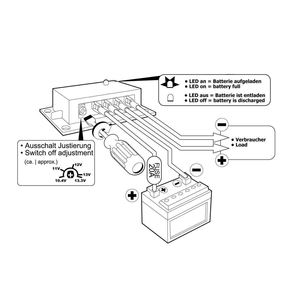 Großzügig Schiffsbatterie Schaltplan Galerie - Die Besten ...