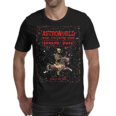 480050d8cd8e Amazon.com: Ina Fers. Travis-Scott-Astroworld-Enjoy-The-Ride Men's T ...