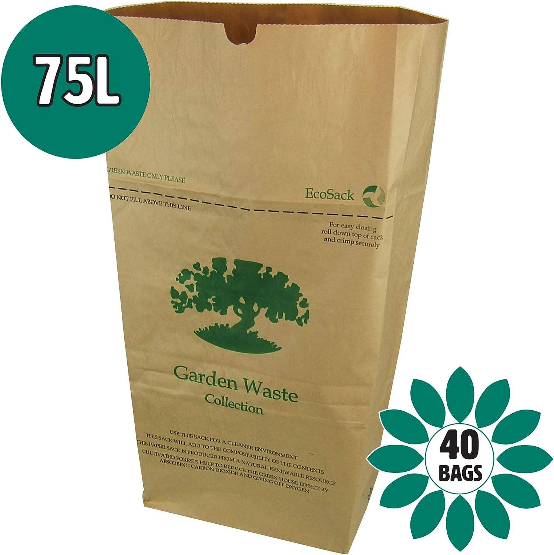 75 litros x 40 papel Garden que las famosas mochilas de desagüe ...