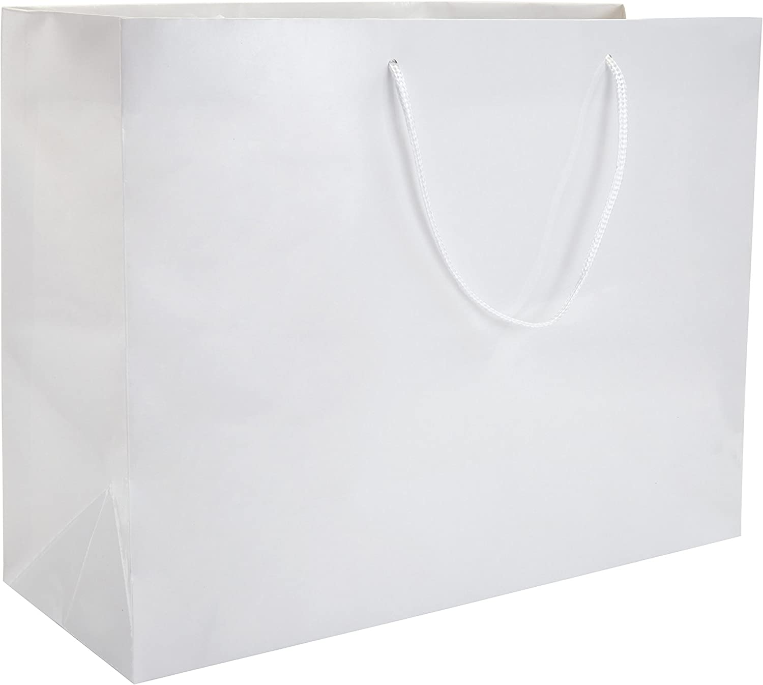 """13 x 5 x 10"""" White Gloss - 100 Pack 