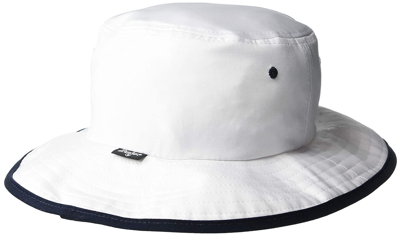 NCAA Zephyr Clemson Tigers Mens Pontoon Bucket Hat Small White