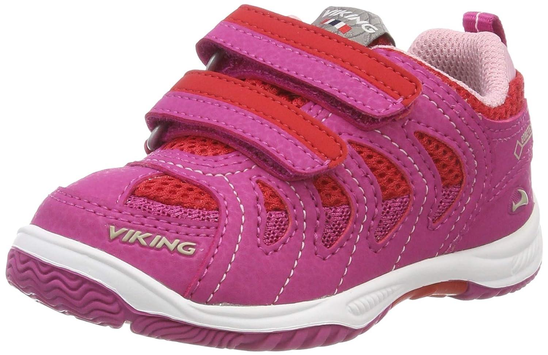 Rose (Magenta rouge 9610) Viking Cascade II GTX, Chaussures de Cross Mixte Enfant 25 EU