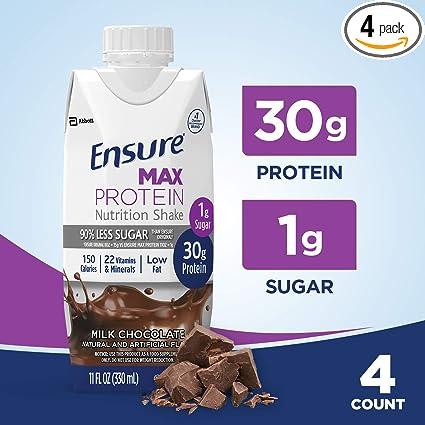 Asegurar Max batido de proteínas con 1.06 oz de proteína ...