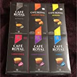 Cafe Royal(カフェロイヤル)(6パック入り)ネスプレッソ互換カプセル 60カプセル入