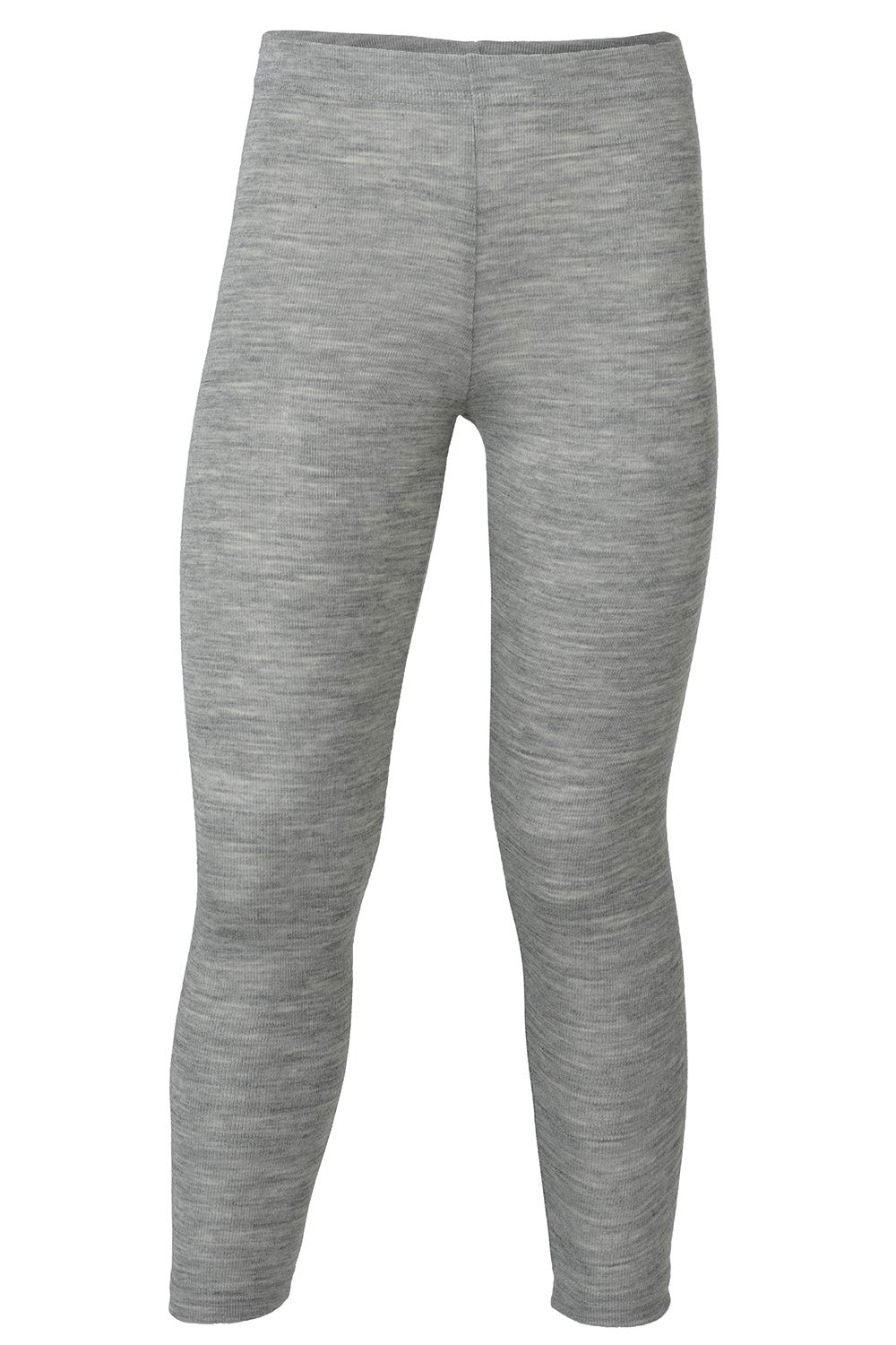 Kids Thermal Underwear: Leggings Pants Base Layer, Organic Merino Wool and Silk (EU-116 | 4-6 years, Grey) by EcoAble Apparel (Image #4)