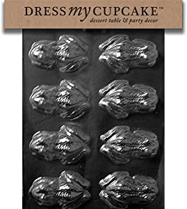 Dress My Cupcake Chocolate Candy Mold, Frog