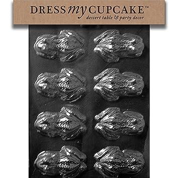 Para vestidos My Cupcake DMCA126 Chocolate moldes para dulces, diseño de rana, diseño de
