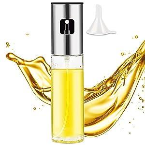 Olive Oil Sprayer Spritzer for Cooking Oil Dispenser Mister for Air Fryer Oil Spray Bottle Kitchen Gadgets for BBQ/Roasting/Grilling/Baking/Frying