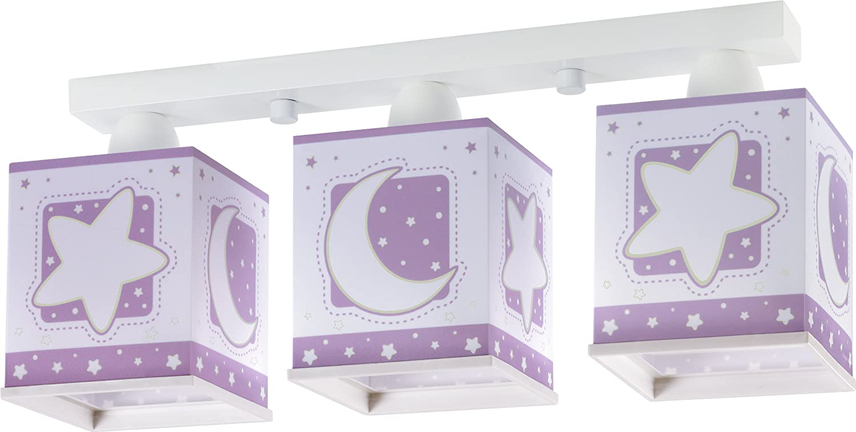 Moon Light Deckenlampe Dalber 63233l Mond Licht lila Lampe Kinder ...