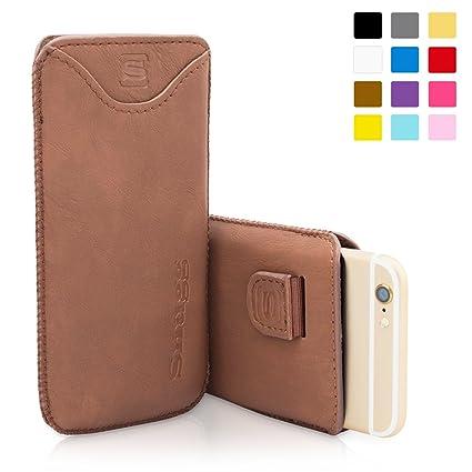 Amazon.com: Snugg – Carcasa para iPhone 6/6S Plus Funda de ...