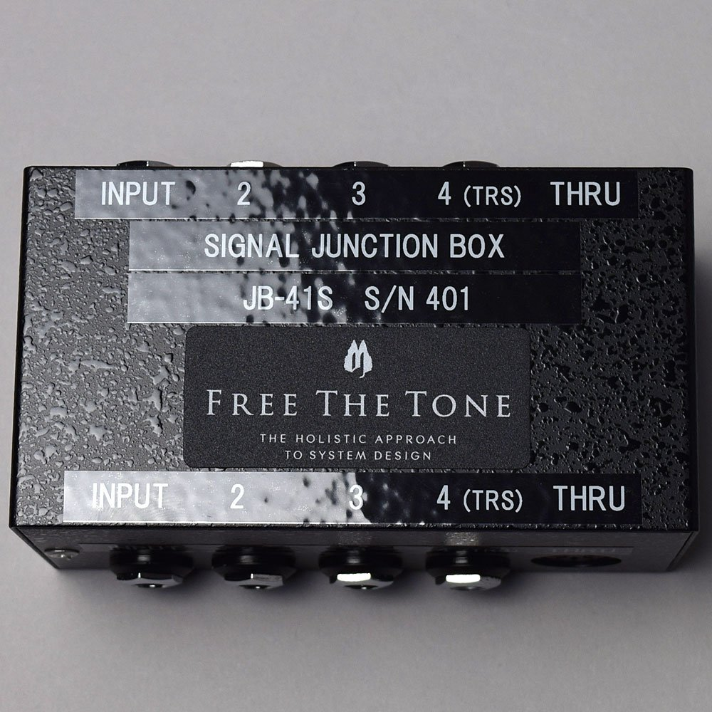 FREE THE TONE JB-41S シグナルジャンクションボックス (フリーザトーン)   B01N8PE2JU