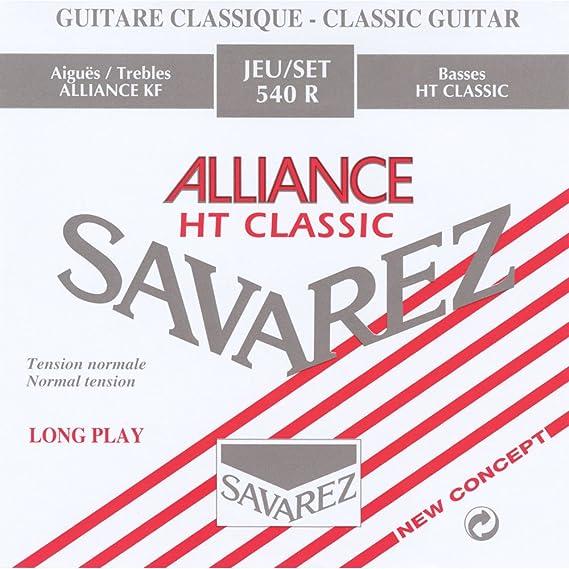 Savarez 540R Classical Guitar Strings Normal Tension