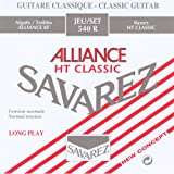 Savarez 540R Alliance Classical Guitar Strings, Standard Tension, Red Card