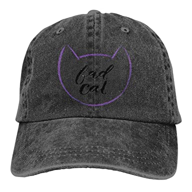 Wfispiy Bad Cat 2019 Gorras Gorra de béisbol Deporte Gorra: Amazon ...
