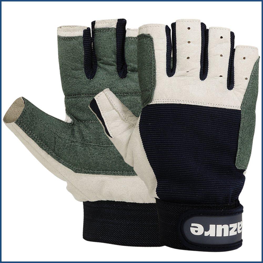 Small Strong AMARA Navy Blue Sailing Gloves C//F