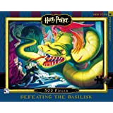 New York Puzzle Company - Harry Potter Defeating the Basilisk - 500 Piece Jigsaw Puzzle