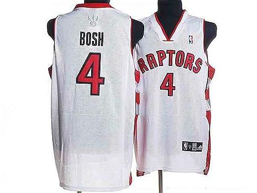 fe5701c6a Toronto Raptors 4 Chris Bosh White Fans Jerseys Size-XXXL  Amazon.ca ...