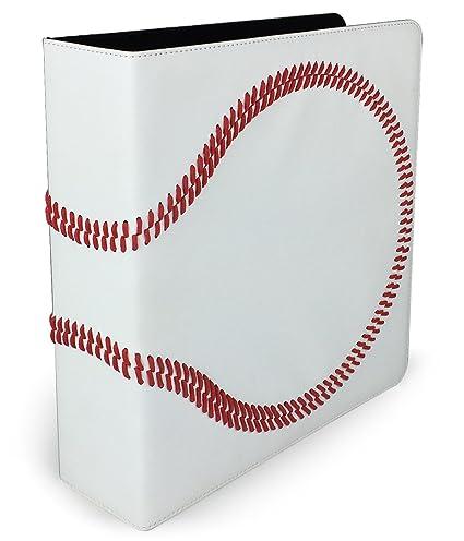 Premium Baseball 3 Ring Binder
