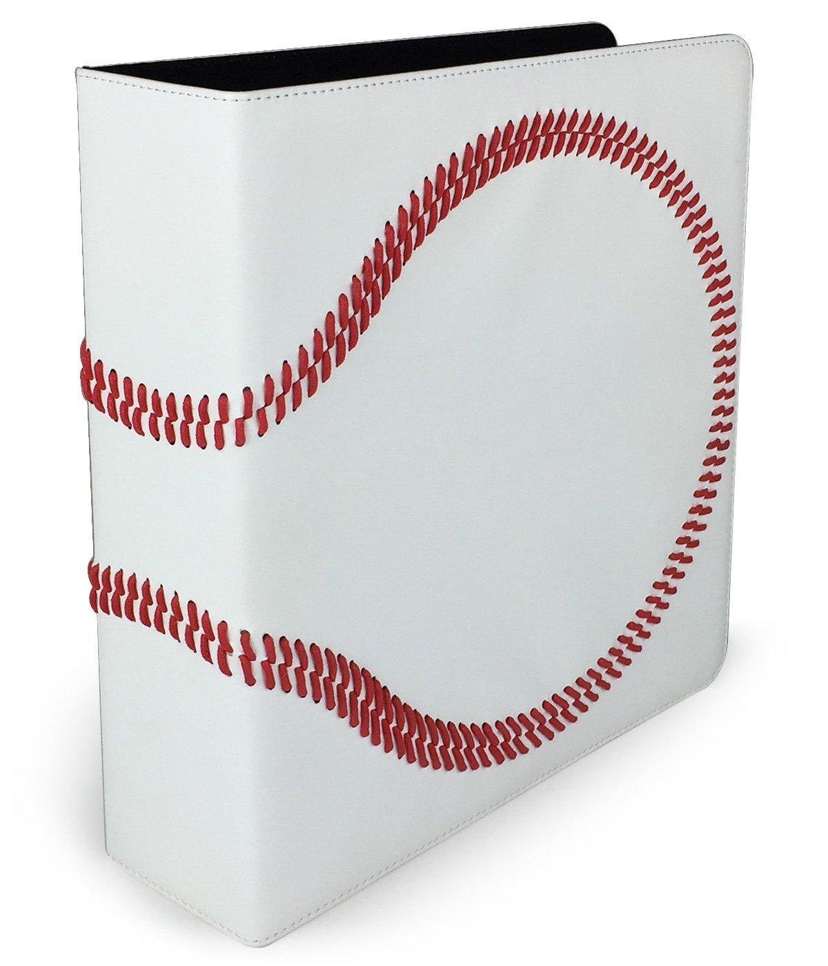 Premium Baseball 3-Ring Binder