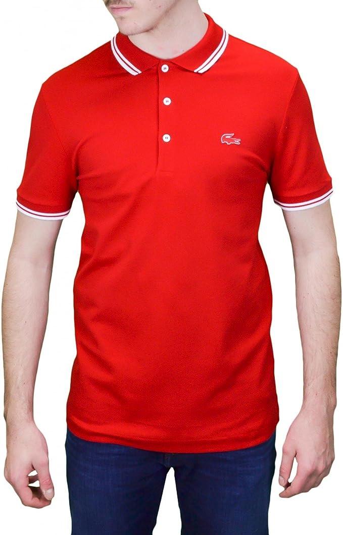Lacoste - Polo - para Hombre Rojo XXL: Amazon.es: Ropa y ...