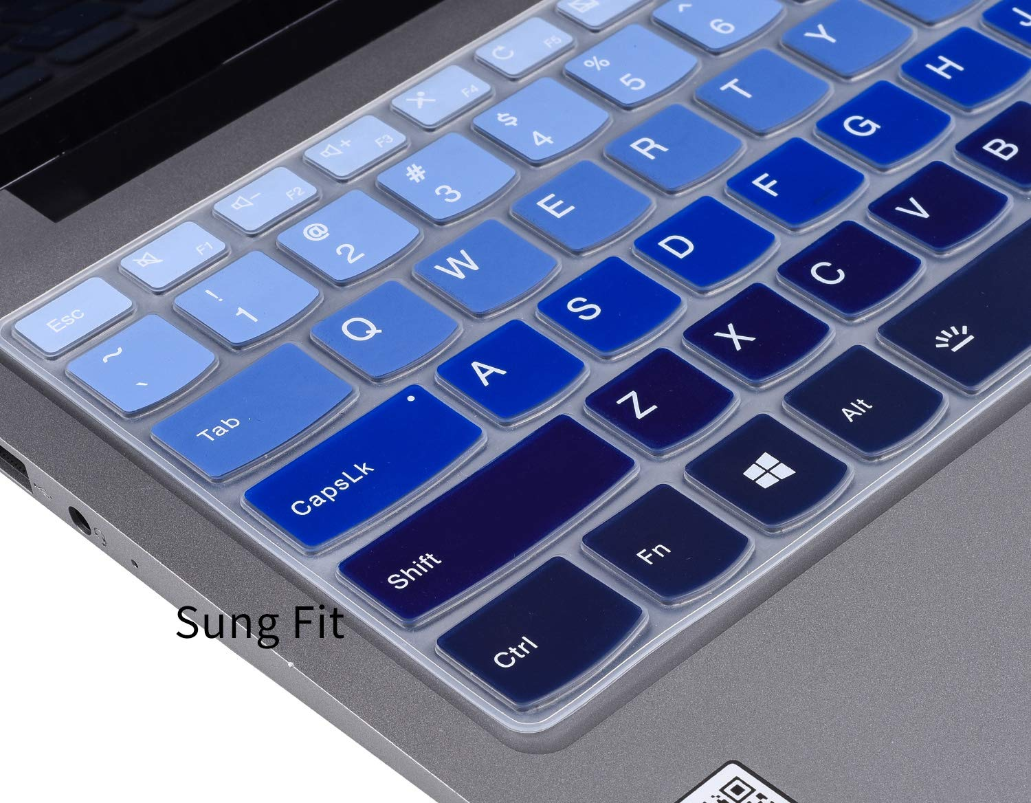 CaseBuy Keyboard Cover Compatible with Lenovo Yoga C940 C930 920 13.9 / Lenovo Flex 14 14 inch/Flex 15 15.6 / Yoga 730 720 13.3 / Yoga 730 15.6 / Yoga ...
