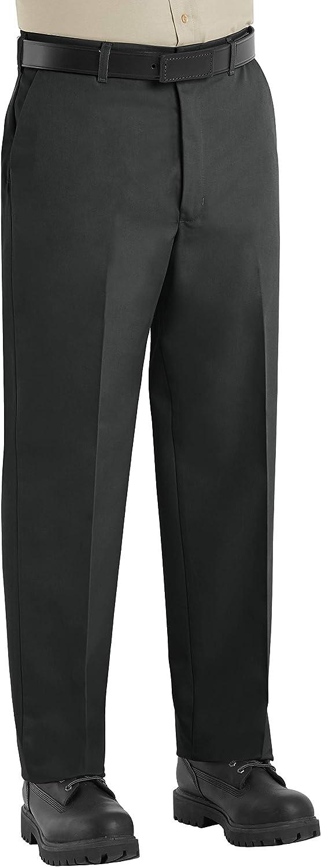 Red Kap Men S Wrinkle Free Regular Fit Twill Blend Work Pants At Amazon Men S Clothing Store