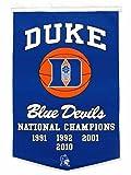 Winning Streak NCAA Duke Blue Devils Dynasty Banner