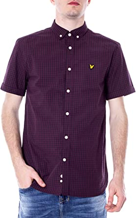 Lyle & Scott Quadri - Camisa de manga corta para hombre ...