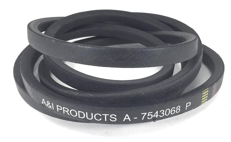 amazon com: a&i a-b17543068 deck belt - 110 6