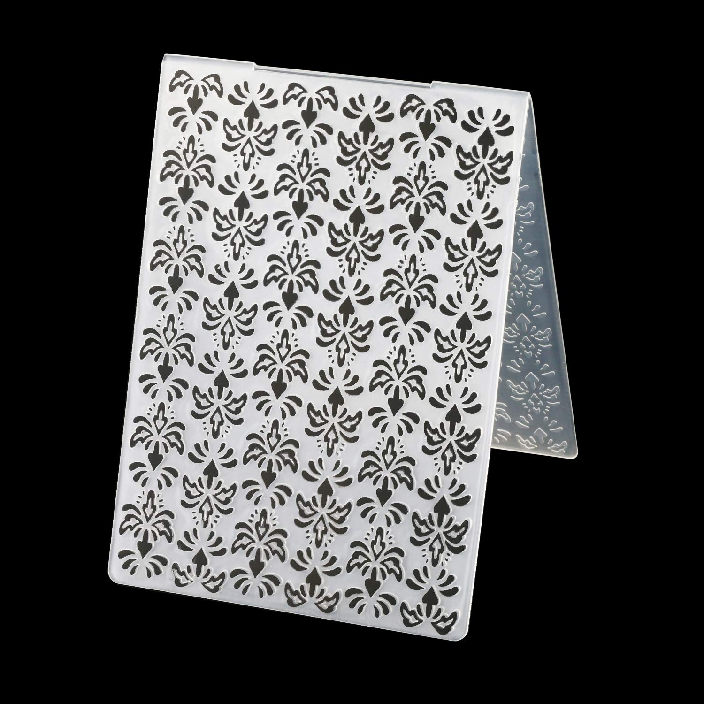 6pcs Plastic Embossing Folder Flower Animal DIY Scrapbooking Photo Album Card Paper Craft Decoration Template Mold