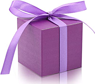 White Silk Box /& Lid PACK OF 10 Wedding Favour Gift White Textured 13939