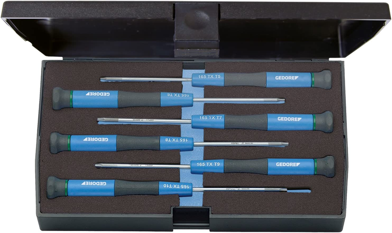 Gedore 165 TX-06 - Juego de destornilladores para electrónica 6 ...