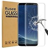 Galaxy S8 Plus Schutzfolie, Rusee 9H Härtegrad 3D Full Coverage Panzerglasfolie Hartglas Schutzfolie Gehärtetem Glas Displayschutzfolie Panzerglas Displayschutz für Samsung Galaxy S8+ / S8 Plus - [Kratzfest][Hohe Transparenz][Fingerabdruck-frei][Blasenfrei]
