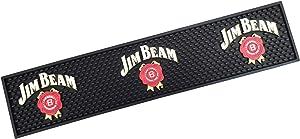 Jim Beam Bourbon Whiskey Long Style Bar Mat Spill Mat Rail Drip Mat - 23.5