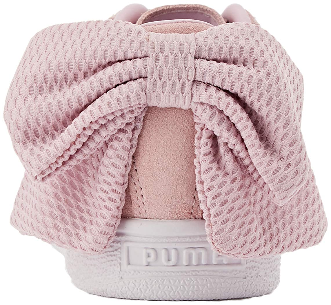 PUMA Women/'s Suede Bow Uprising WNs Low-Top Sneakers