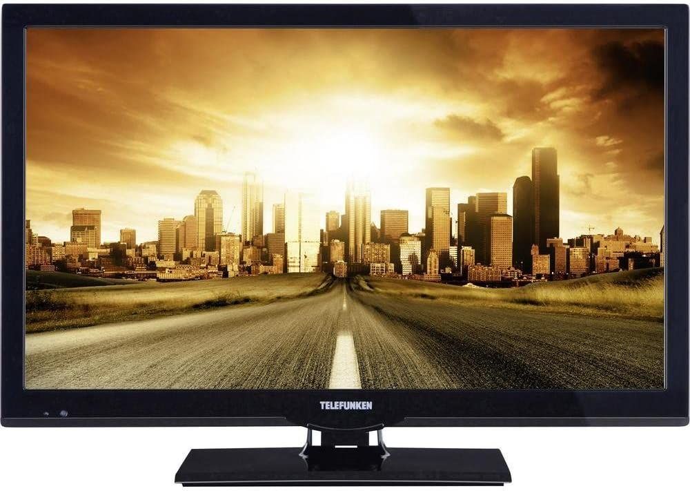 Telefunken televisor LED 56 cm/22 Pulgadas l22 F275 a3 eficiencia energética A DVB-T, DVB-C, DVB-S, Full HD, Ci + Negro: Amazon.es: Electrónica