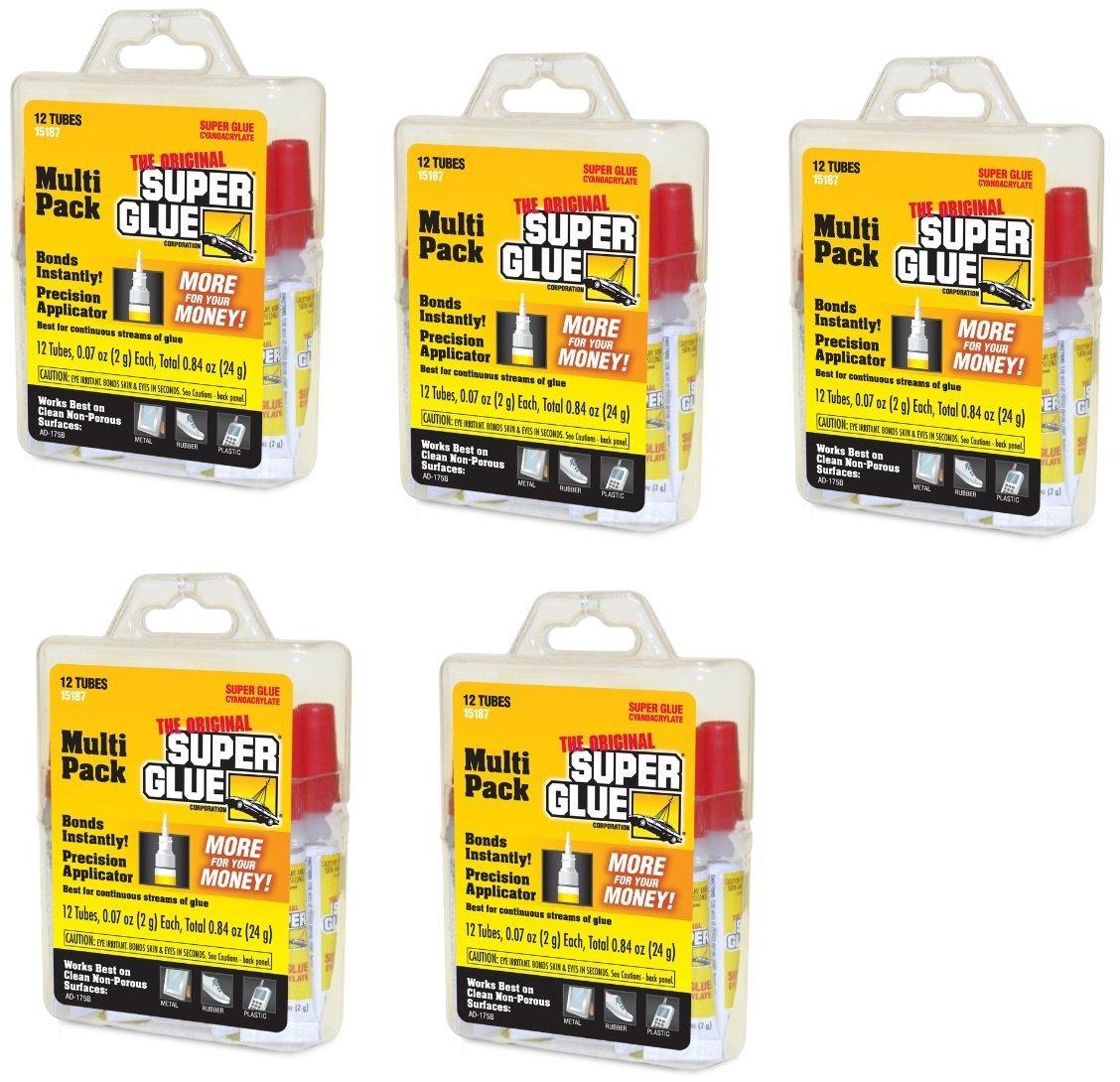 Super Glue 15187 Super Glue, (#), 60 Tubes