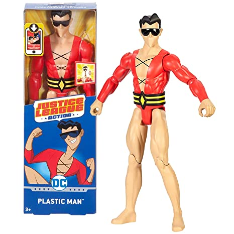 "DC Comics Justice League Action PLASTIC MAN 12 /""Action Figure"