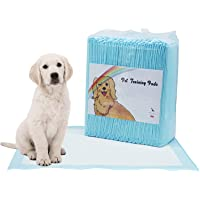 Disposable Dog Pet Training Pee Pads, Ultra Absorbent Wee-Wee Underpads, Incontinence Puppy Bed Pads, Unscented Portable…