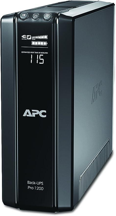 APC BR1200GI Back-UPS PRO - Sistema de alimentación ininterrumpida ...